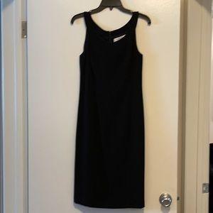 MaxMara Black Sheath Dress